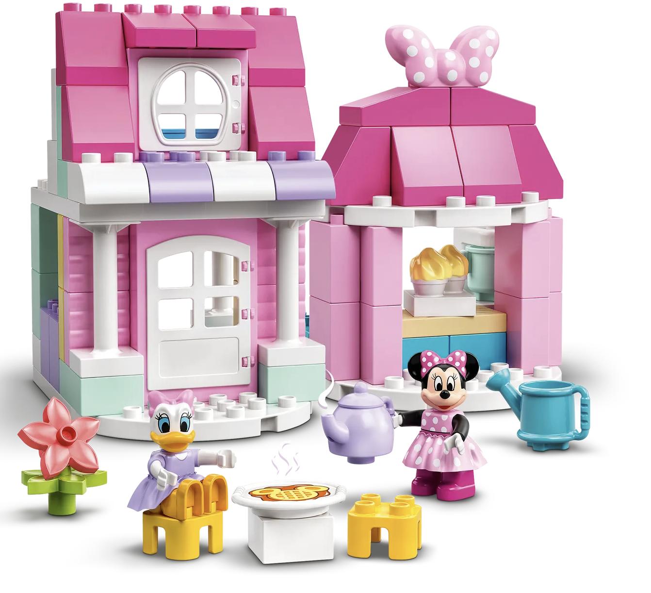 LEGO DUPLO DISNEY MINNIE`S HOUSE AND CAFE