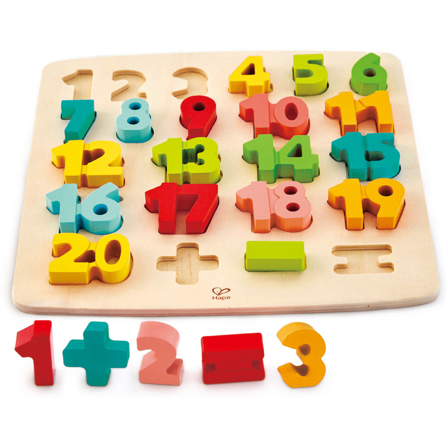 HAPE MATH PUZZLE photo