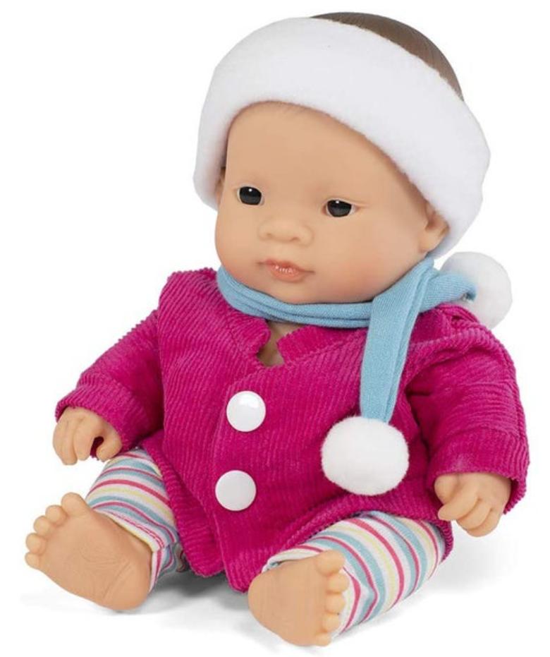 Miniland Anatomically Correct, Asian Baby Girl Doll