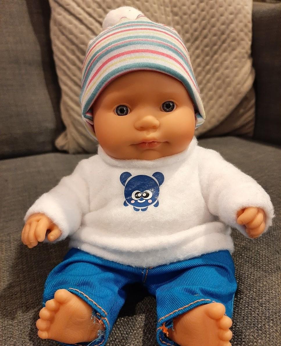 MINILAND ANATOMICALLY CORRECT CAUCASIAN BABY BOY DOLL